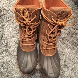 d2ec5710509b Sperry Top-Sider Shoes - Sperry Top-Sider Saltwater Reeve Wedge Duck Boot